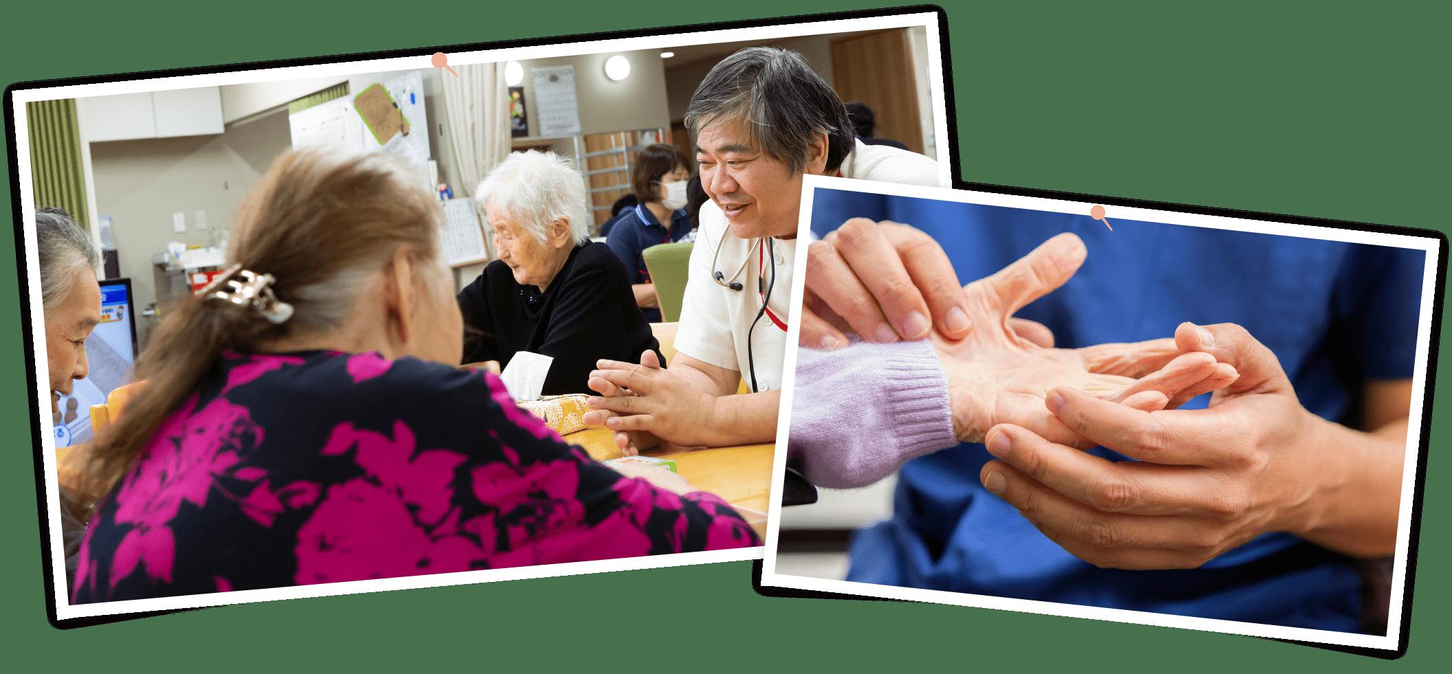 看護小規模多機能型介護イメージ