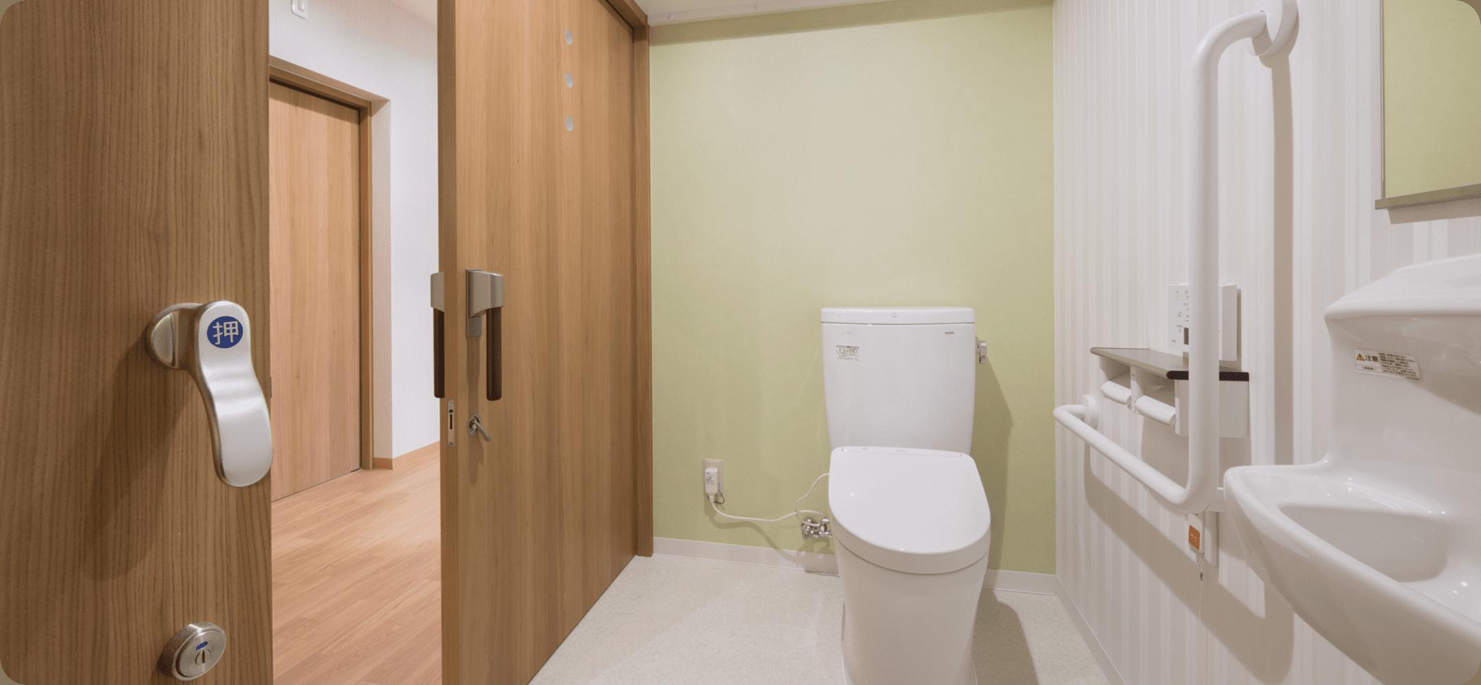 たまふれあいの家枡形トイレ